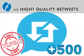 500-hightquality-retweets